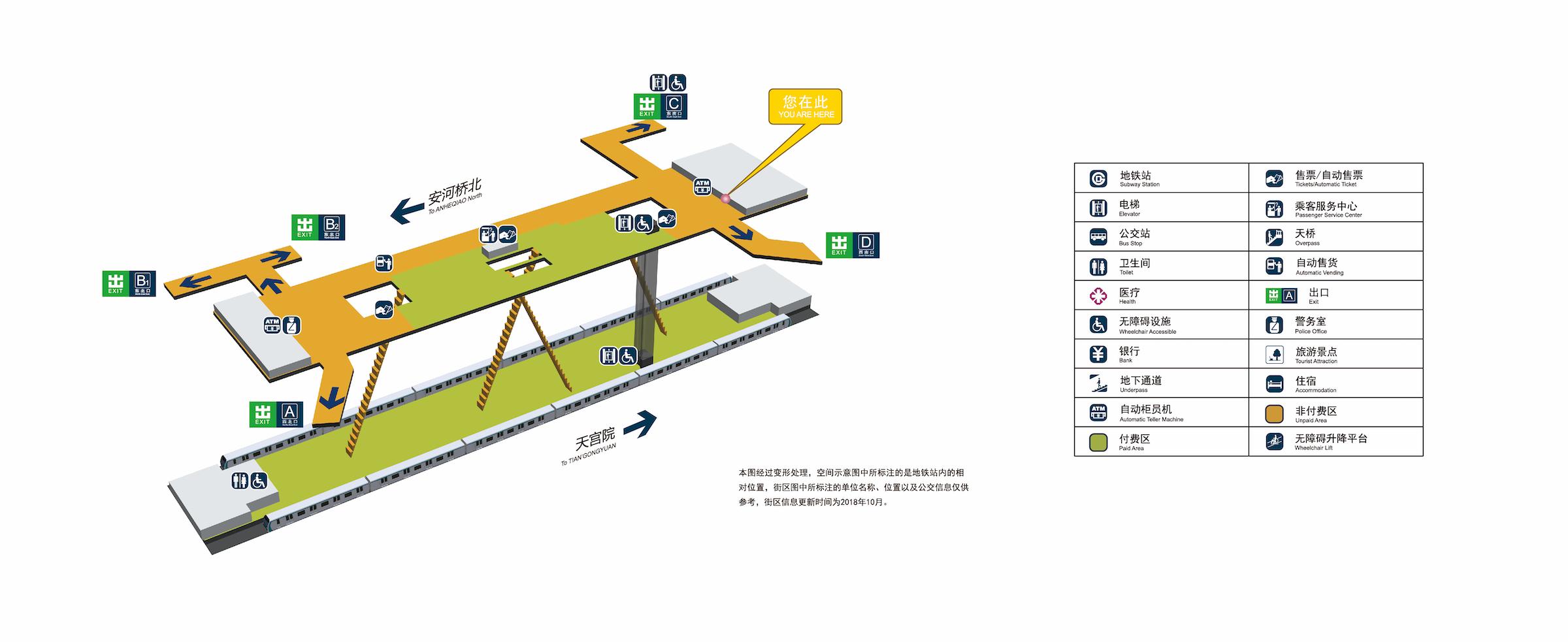 高米店南站立体图